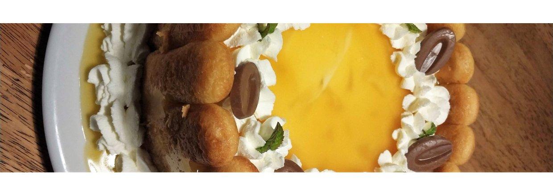 Lav en mega lækker mango/passionsfrugt creamcheese kage til nytår!