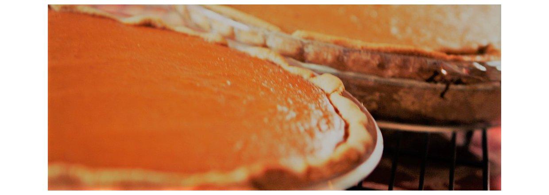 Græskartærte med let krydret græskarfyld