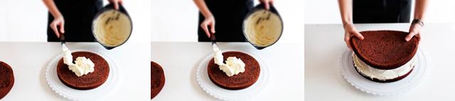 Kom fyldet på kagen