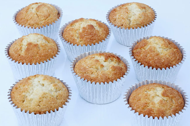 Vanilje cupcakes