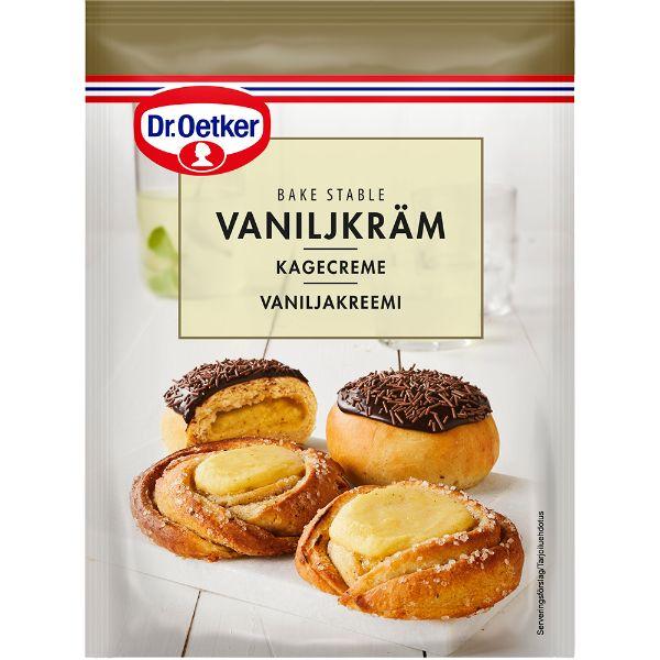 Image of   Bagestabil Kagecreme vanilje 100 gram