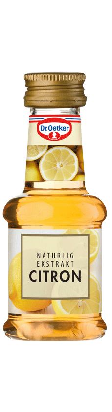 Image of   Citronekstrakt, naturlig - 38 ml