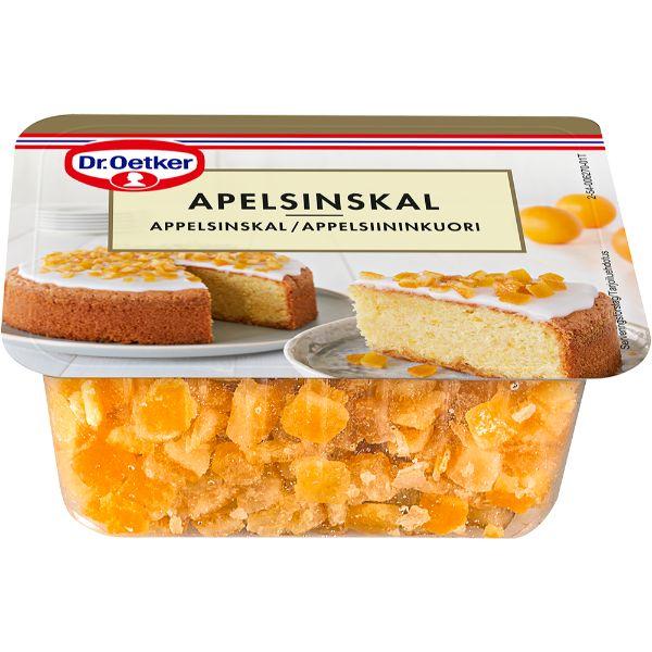 Image of   Appelsinskal, hakket - 100 gram