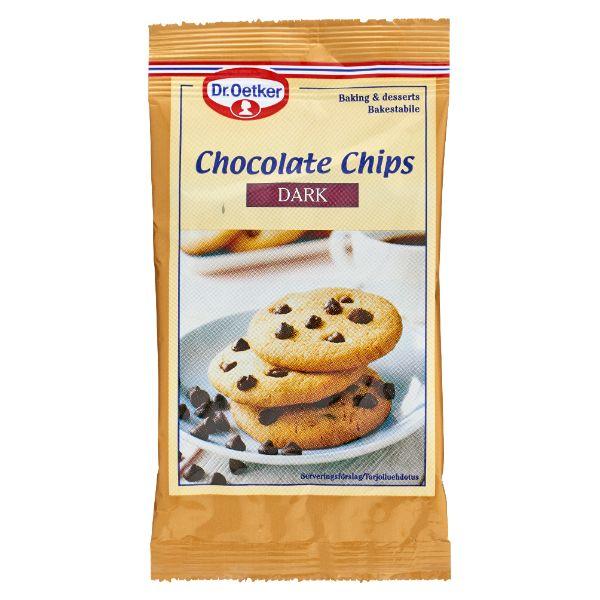 Image of   Chocolate chips dark 100 gram