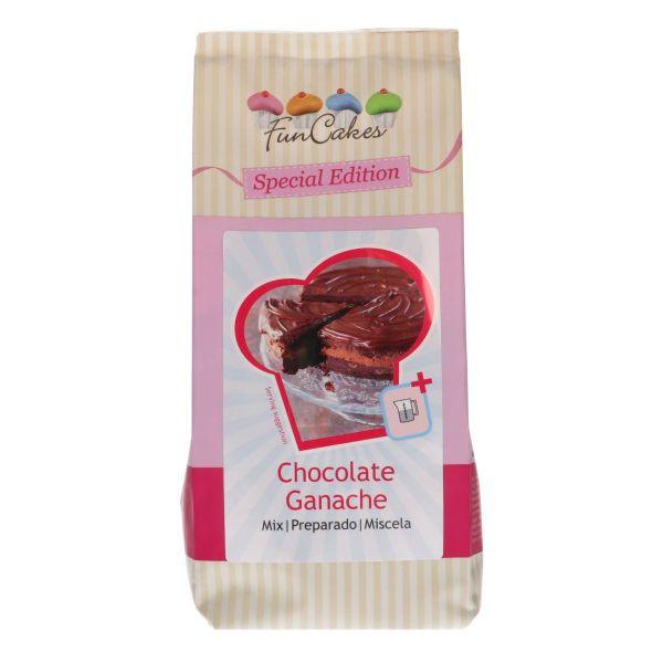Image of   Chokolade ganache mix 400 g - Funcakes