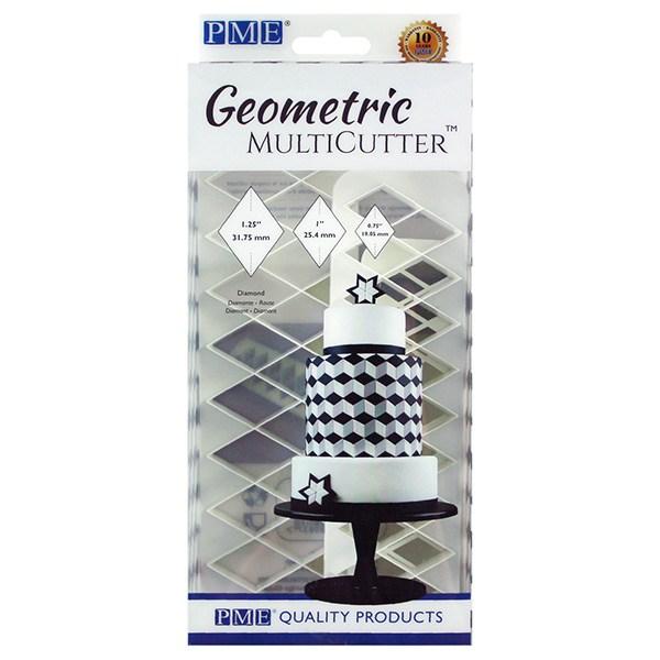 PME Geometric Multicutter - Diamond - sæt med 3