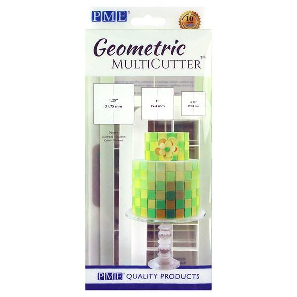 PME Geometric Multicutter - Square - sæt med 3