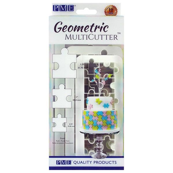 PME Geometric Multicutter - Puzzle - sæt med 3