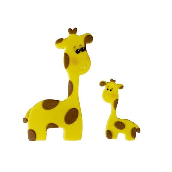 FMM girafmor og girafbaby - sæt med 2.