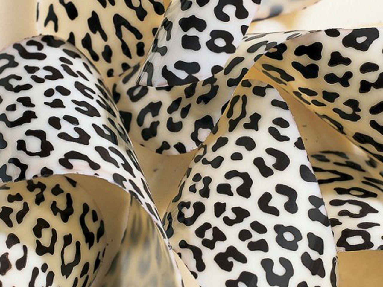 Image of   Chokolade transfer leopard