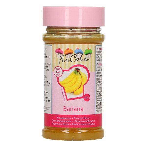 Image of Aromapasta banan 120 g - Funcakes