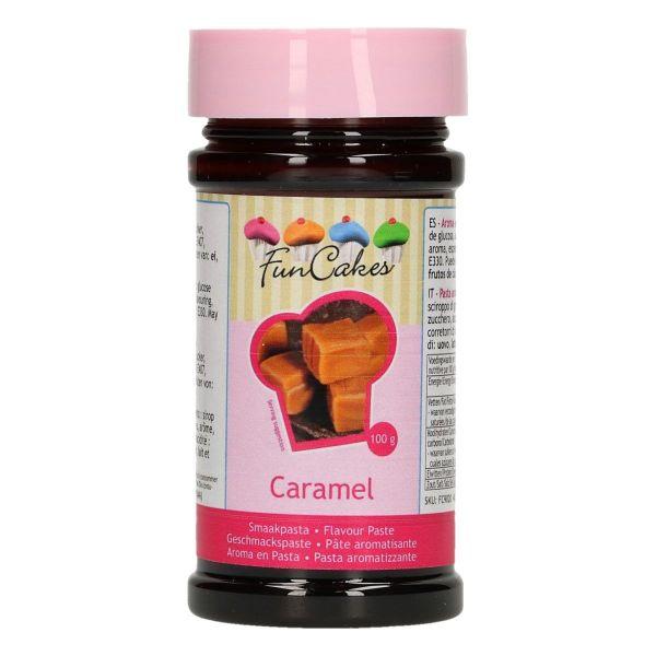 Image of   Aromapasta karamel 100 g - Funcakes