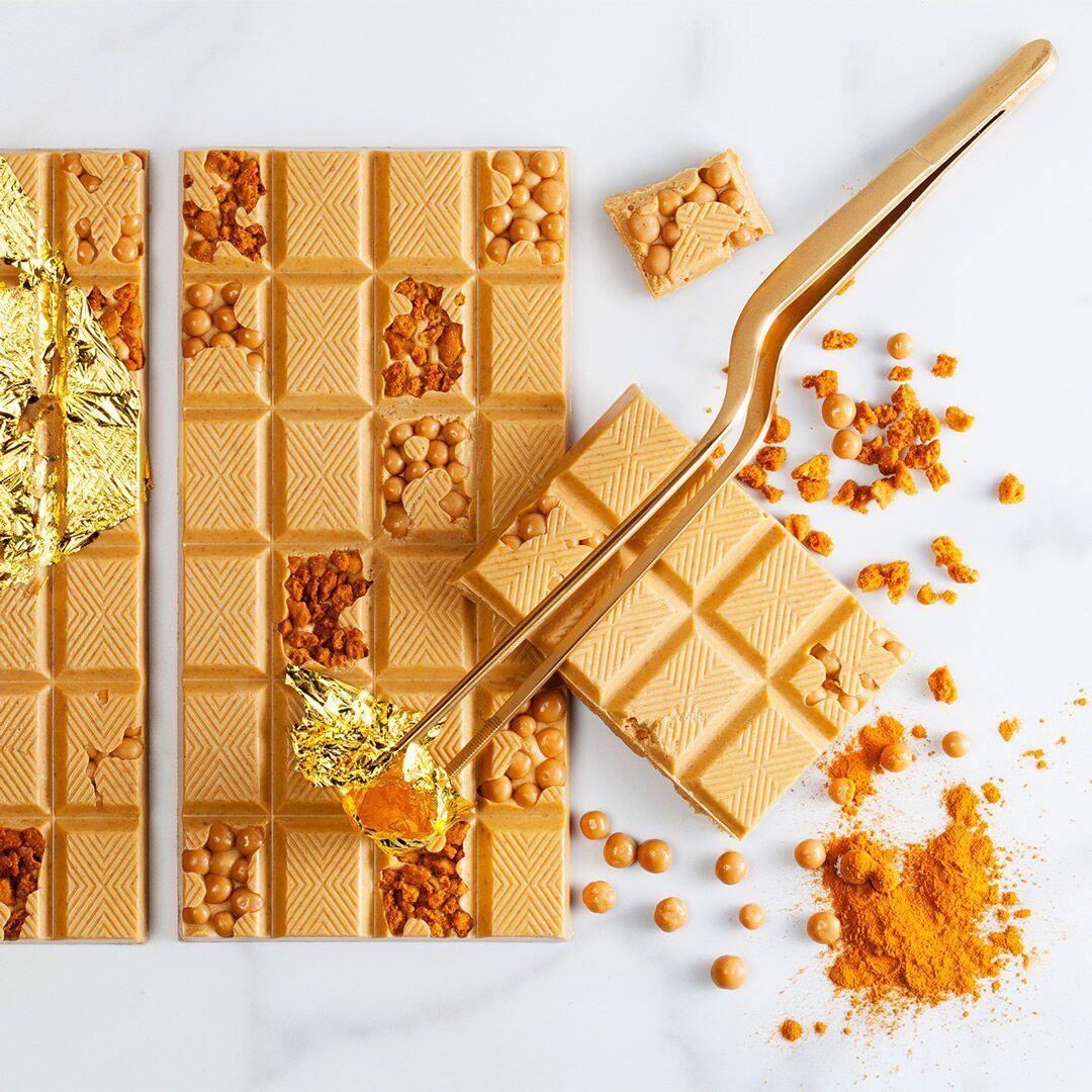 Image of   Callebaut chokolade callets Gold 30,4%, 300 gram