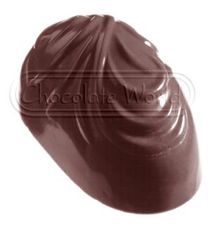 Image of   Professionel chokoladeform i hård plast, Fjer