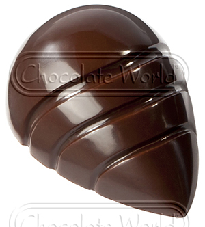 Image of   Professionel chokoladeform i hård plast, Moderne