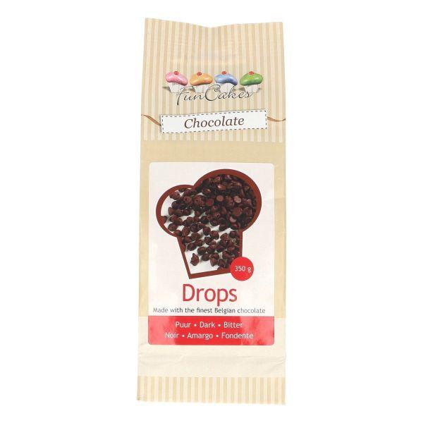 Image of   Chokoladedråber mørke - 350 g