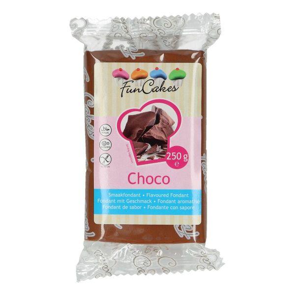 Image of   Chokolade fondant brun - 250 g.