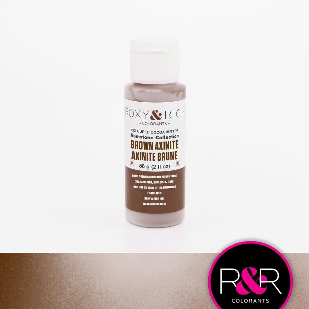 Billede af Farvet kakaosmør, Brown Axinite 56 g - Roxy & Rich Gemstone Collection