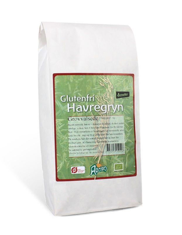 Image of Havregryn glutenfri grove fra Aurion 1 kg
