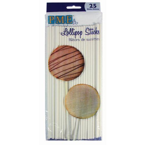 Image of   Popcakes pinde 20 cm/25 stk