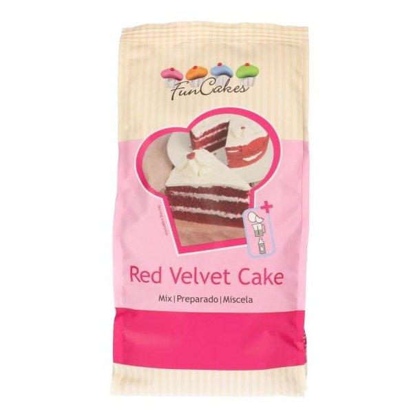 Red Velvet kage mix - 1 kg.