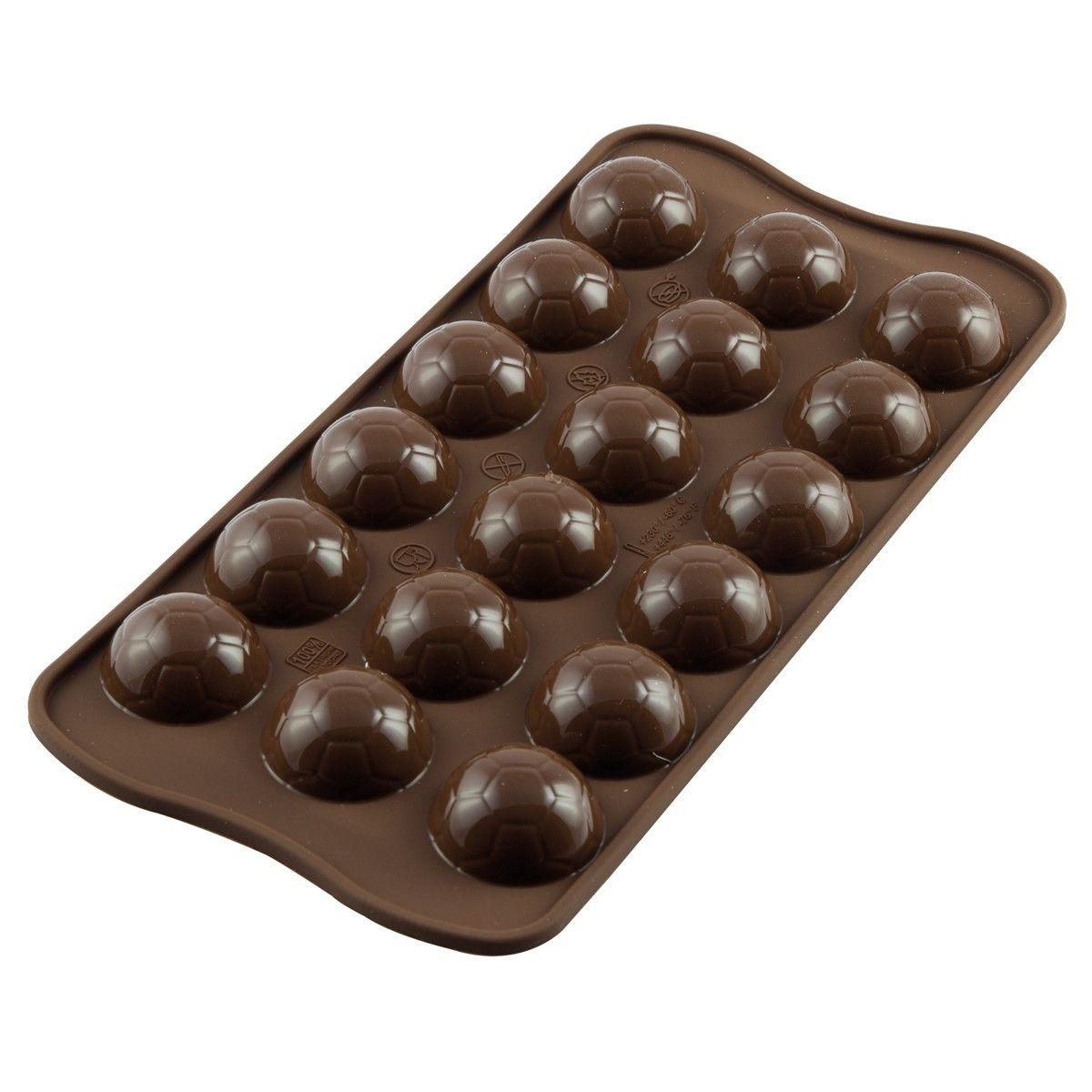 Image of   Silikomart Chokoladeform, Choco Goal