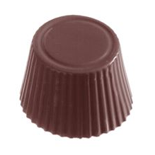 Image of   Professionel chokoladeform i hård plast, kop praline
