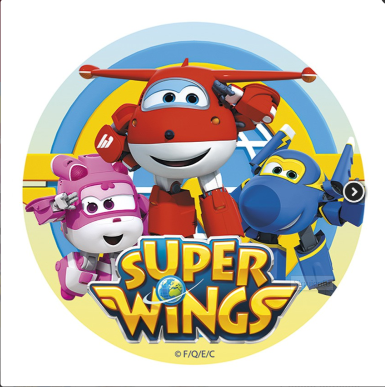Sukkerprint Super Wings