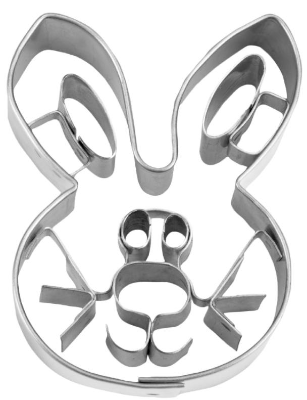 Kanin udstikker i metal.