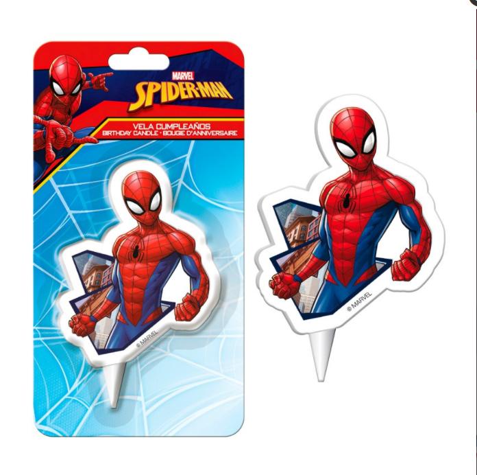 Image of   Spiderman kagelys - 7,5 cm.