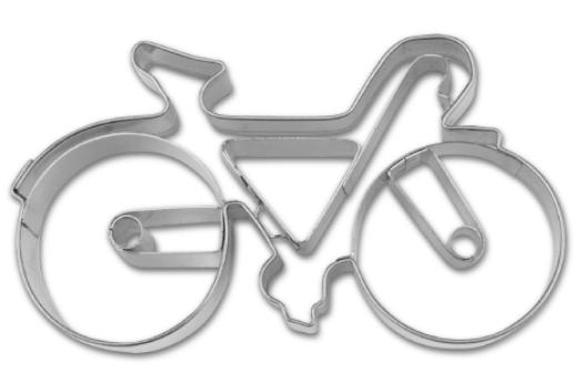 Image of   Cykel udstikker i metal