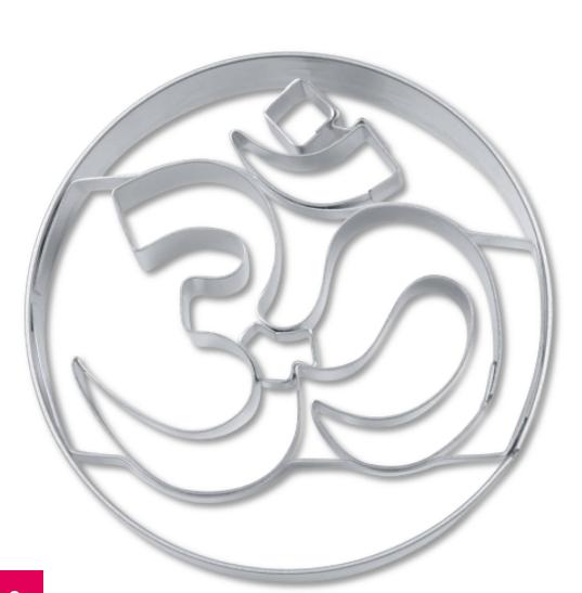 Image of Aum-udstikker i metal