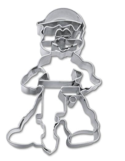 Image of   Bygningsarbejder metal udstikker