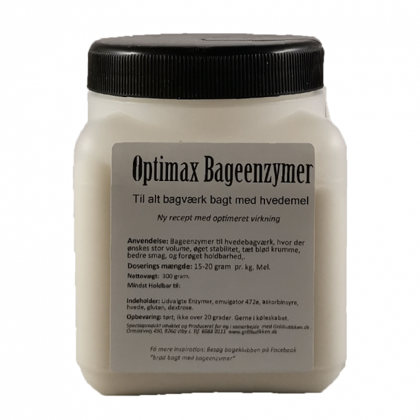 Optimax Bageenzymer 300 g