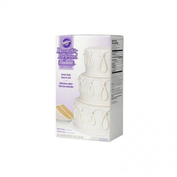 Wilton fondant hvid klar-til-brug 2,2 kg