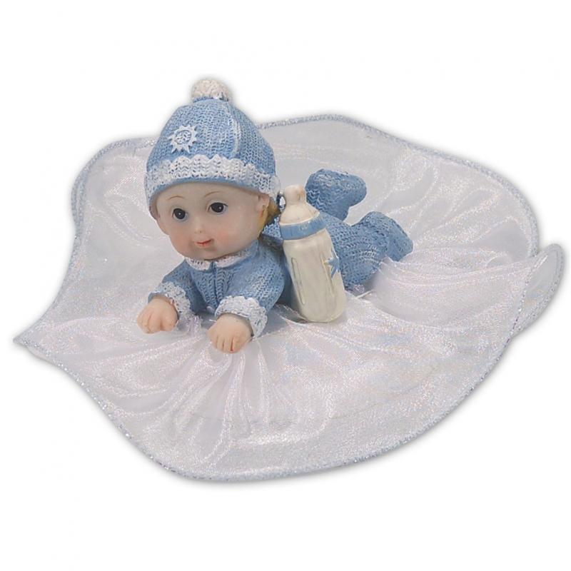 Image of   Baby topfigur lyseblå
