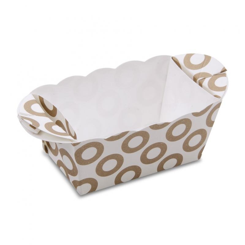 Image of   Bageform papir med ringe (10 stk.)