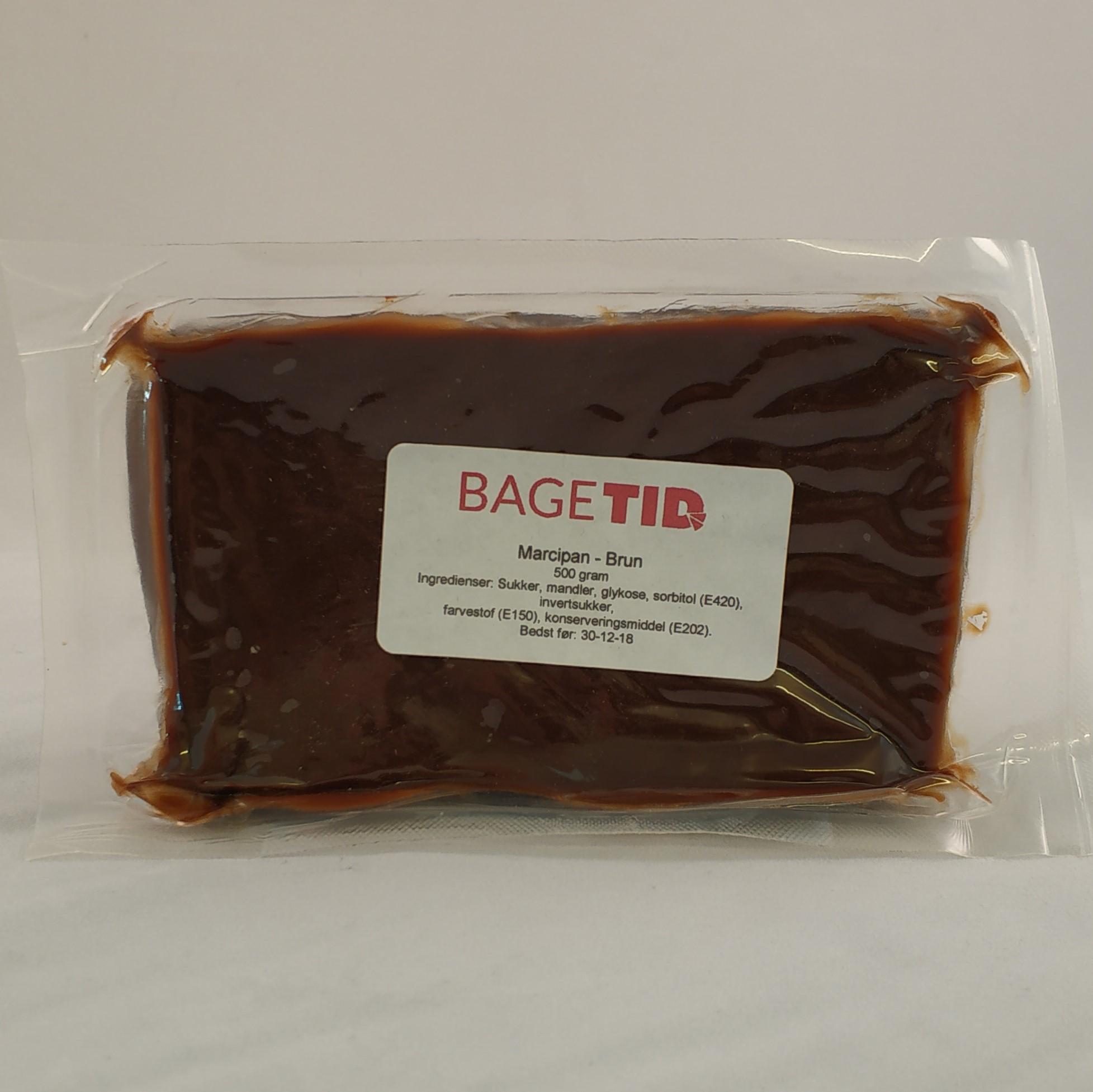 Image of   Bagetid marcipan brun 500 gr M.H.T. 30. december 2018