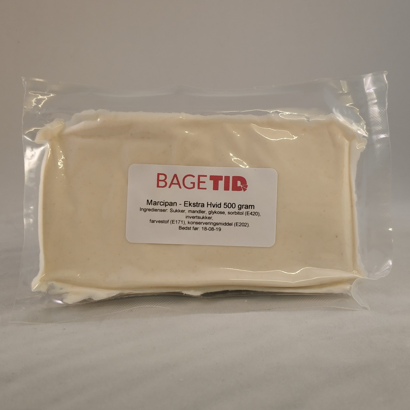 Image of   Bagetid marcipan X-hvid, 25/75 - 500 gr