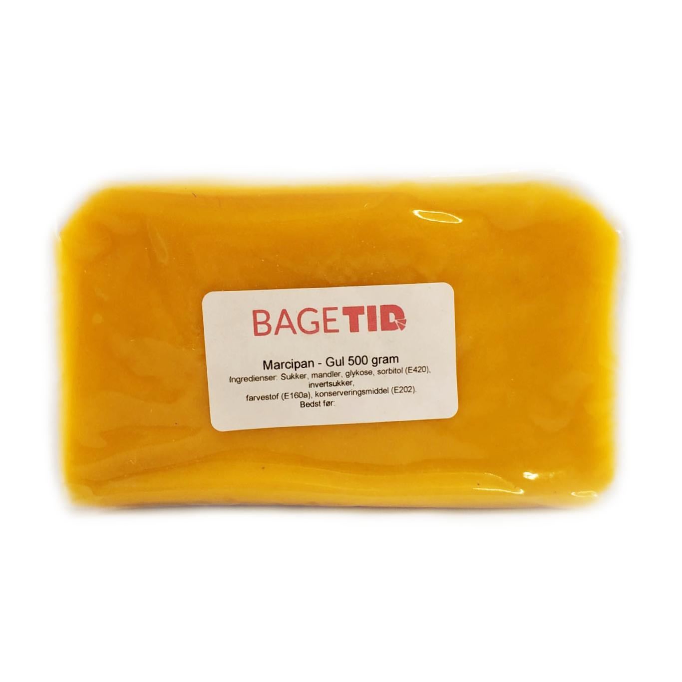 Image of   Bagetid marcipan gul 500 g.