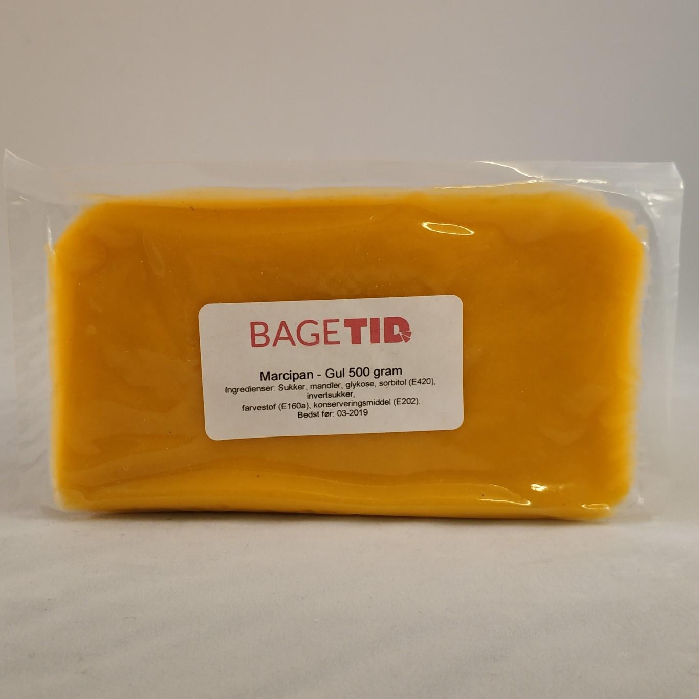 Image of   Bagetid marcipan gul 500 gr.