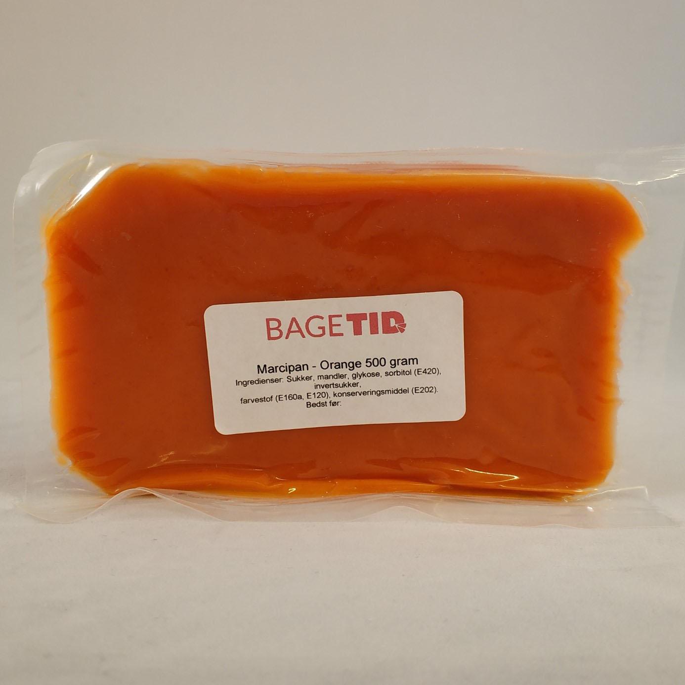 Image of   Bagetid marcipan orange 500 g.