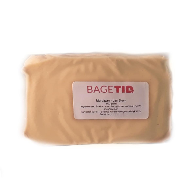 Image of   Bagetid marcipan lysebrun 500 gr MHT 15.03.20
