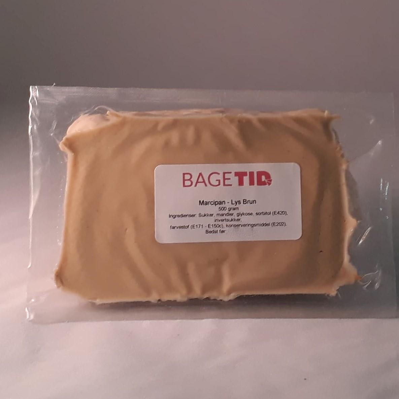 Image of   Bagetid marcipan lysebrun 500 gr