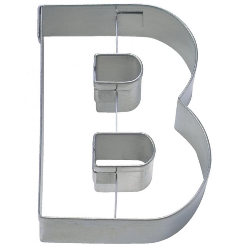 Image of   Bogstav udstikker B, 6,5 cm