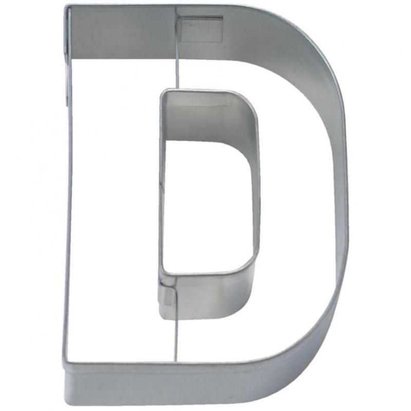 Image of   Bogstav udstikker D, 6,5 cm