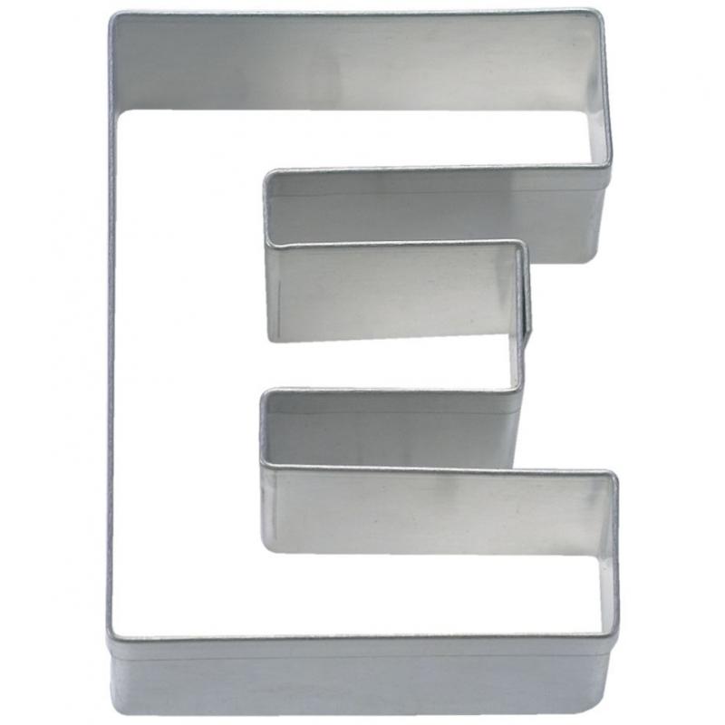 Bogstav udstikker E, 6,5 cm
