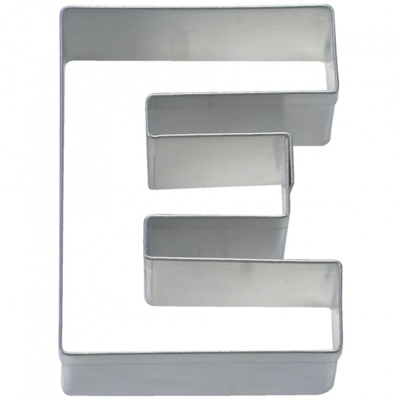 Image of   Bogstav udstikker E, 6,5 cm