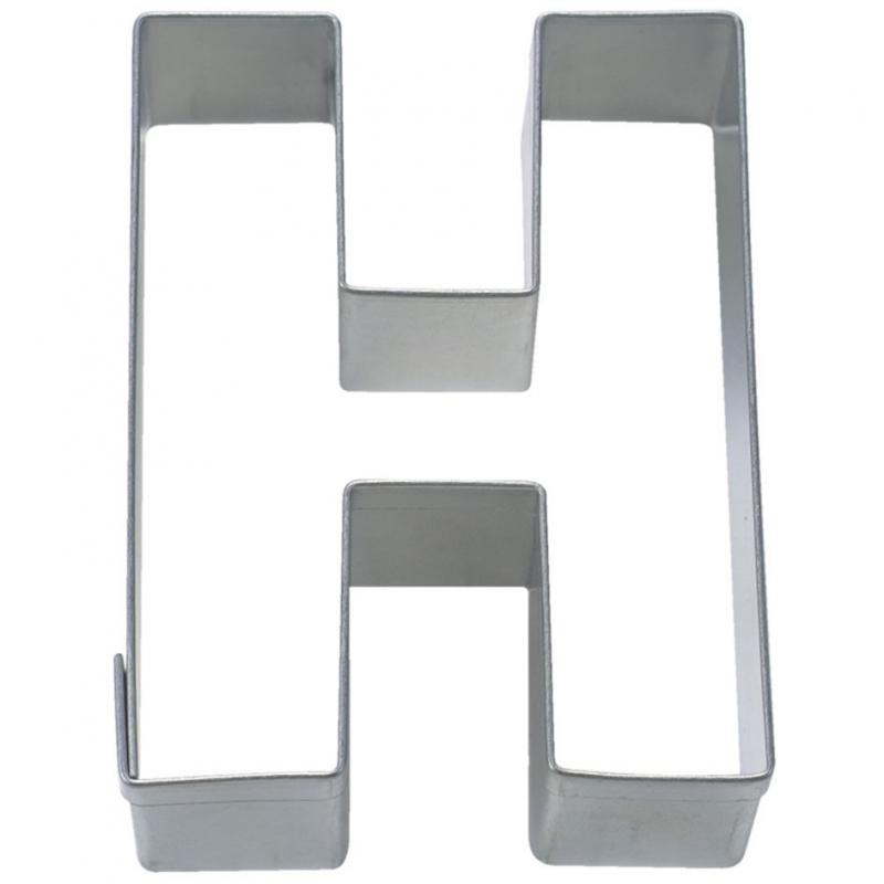 Image of   Bogstav udstikker H, 6,5 cm