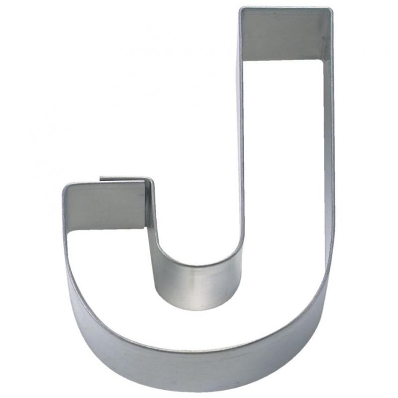 Bogstav udstikker J, 6,5 cm